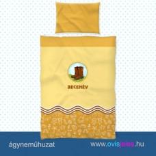 Ovis ágyneműhuzat-Csizma-barna ovisjellel