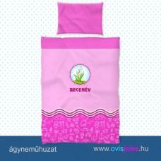 Ovis ágyneműhuzat-Gyöngyvirág ovisjellel