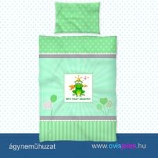 Ovis ágyneműhuzat-Békakirályfi ovisjellel 2.tip.