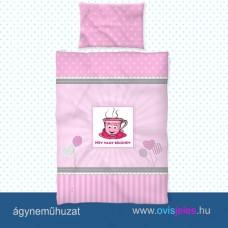 Ovis ágyneműhuzat-Csésze ovisjellel 2.tip.