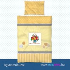 Ovis ágyneműhuzat-Virágos kosár ovisjellel 2.tip.