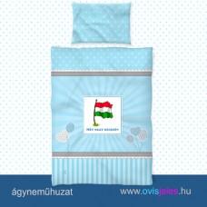 Ovis ágyneműhuzat-Zászló ovisjellel 2.tip.