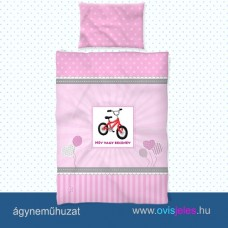 Ovis ágyneműhuzat-Bicikli ovisjellel 2.tip.