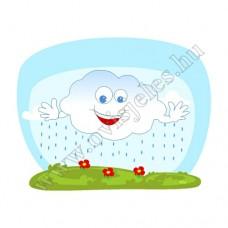 Ovis jeles kötény, hátizsák: Felhő