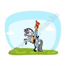 Póló: Huszár-lovas