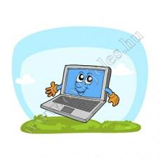 Póló: Laptop