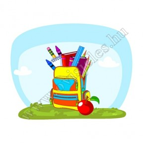 Póló: Iskolatáska