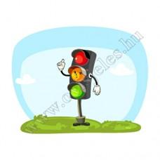 Póló: Közlekedési lámpa
