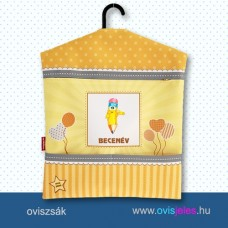 Ovis zsák-Ceruza-sárga ovisjellel