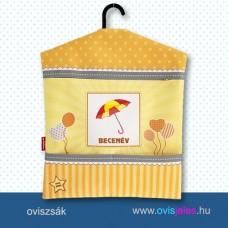 Ovis zsák-Esernyő-napernyő ovisjellel