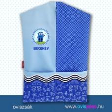 Ovis zsák-Dominó - kék ovisjellel
