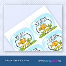 Akvárium -12 db-os ovisjel
