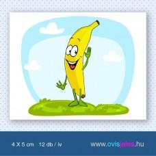 Banán -12 db-os ovisjel