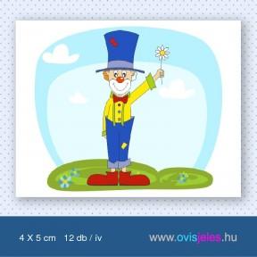 Bohóc-vicces -12 db-os ovisjel