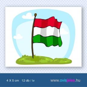Zászló -12 db-os ovisjel