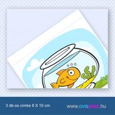 Akvárium -3 db-os ovisjel