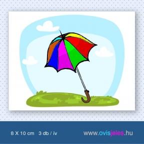 Esernyő -3 db-os ovisjel