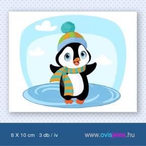 Pingvin-baby -3 db-os ovisjel