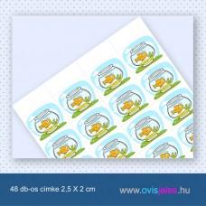 Akvárium -48 db-os ovisjel