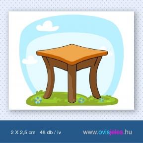Asztal -48 db-os ovisjel