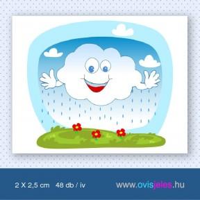 Felhő -48 db-os ovisjel