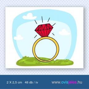 Gyűrű -48 db-os ovisjel