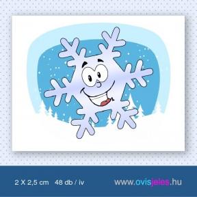 Hópehelyke -48 db-os ovisjel