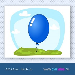 Lufi-kék -48 db-os ovisjel