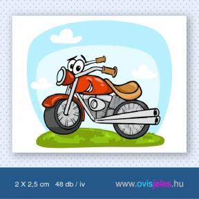 Motorkerékpár -48 db-os ovisjel