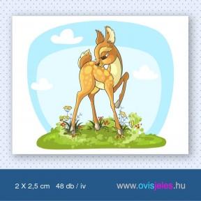 Őzike-bambi -48 db-os ovisjel