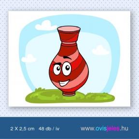 Váza -48 db-os ovisjel