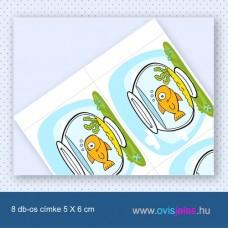 Akvárium -8 db-os ovisjel