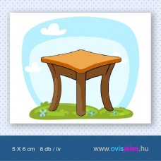 Asztal -8 db-os ovisjel