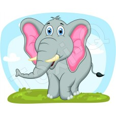 Póló: Elefánt