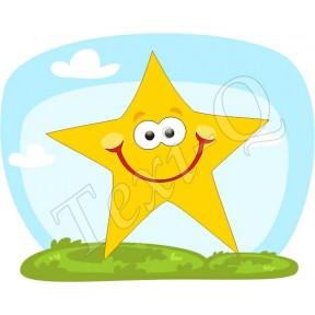 Ovis jeles kötény, hátizsák: Csillag