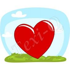 Póló: Szív