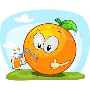 Póló: Narancs
