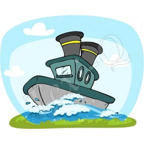 Ovis jeles kötény, hátizsák: Hajó