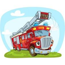 Póló: Tűzoltó-kék villogó