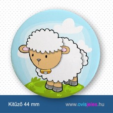 Bárány -ovisjel kitűző