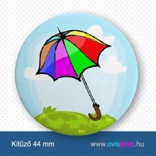 Esernyő -ovisjel kitűző