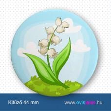 Gyöngyvirág -ovisjel kitűző