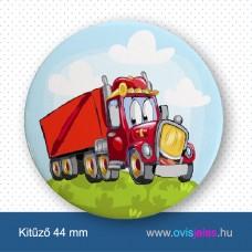 Kamion -ovisjel kitűző