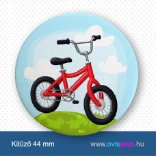Bicikli -ovisjel kitűző