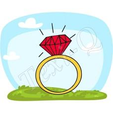 Ovis jeles kötény, hátizsák: Gyűrű