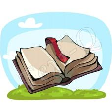 Póló: Könyv-nyitott