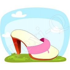 Póló: Papucs-pink