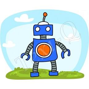 Póló: Robot