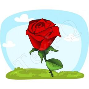 Ovis jeles kötény, hátizsák: Rózsa