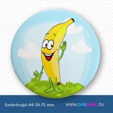 Szekrényjel, Banán ovisjellel